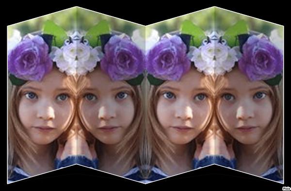voici tout les montage de ma petite fille shaina