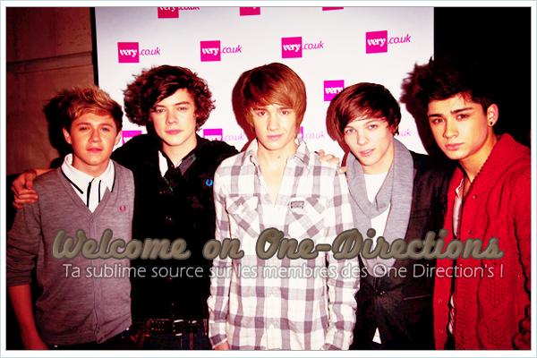 * One-Directions, ta source d'actualité sur le groupe talentieux des One Direction ! *