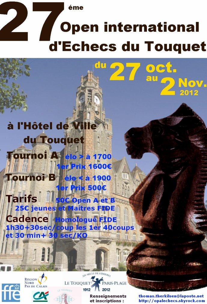 27éme OPEN du TOUQUET-PARIS-PLAGE 2012