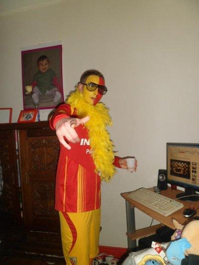 Carnaval ou pas j'reste en Sang et Or !