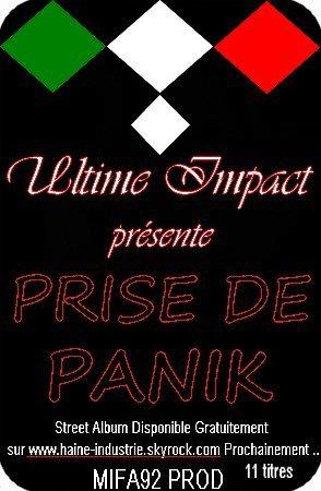 """STREET ALBUM """" PRISE DE PANIK """" PROCHAINEMENT EN TELECHARGEMENT"""