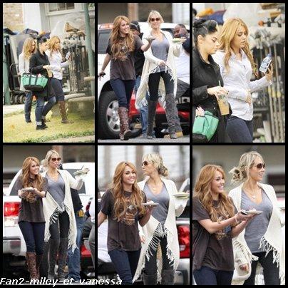 Découvrez de nouvelles photos de Miley Cyrus sur le tournage de son film So Undercover  ce mercredi 15 décembre 2010.
