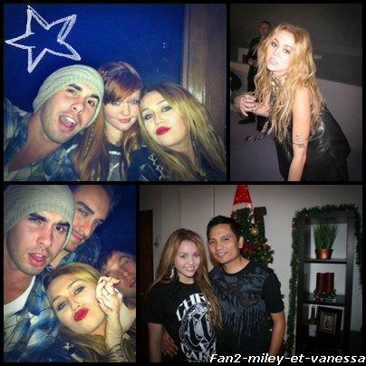 Voici de nouvelles photos perso de Miley.
