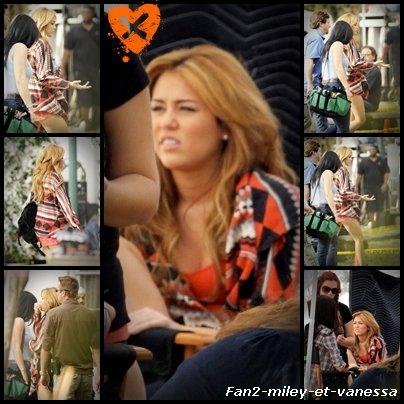 Découvrez de nouvelles photos de Miley Cyrus sur le tournage de son dernier film So Undercover.
