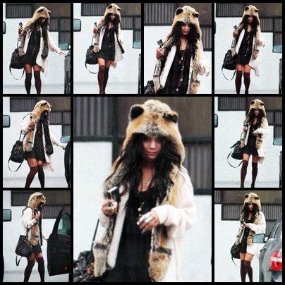 Vanessa a également été vue ce samedi 18 décembre, à Studio City.
