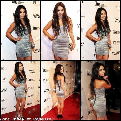 Comme prévu, Vanessa s'est rendue ce samedi 18 décembre au soir, à Las Vegas pour fêter son 22è anniversaire entourée de ses amis et ses fans. L'évènement a eu lieu dans la boite de nuit « Pure Nightclub » de la ville.