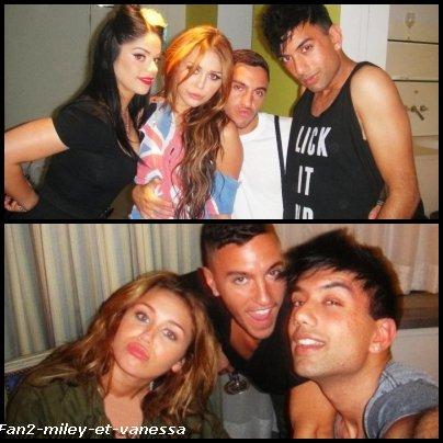 Voici de nouvelles photos personnelles de Miley qui sont apparues sur la toile.