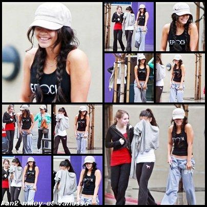 Découvrez les premières photos de 2011 de Vanessa qui a été vue sortant de la salle de sport toute souriante accompagnée de sa mère Gina et sa soeur Stella qui était elle-même accompagnée de son amie l'actrice Sammi Hanratty ce dimanche 2 janvier 2011 à Los Angeles.