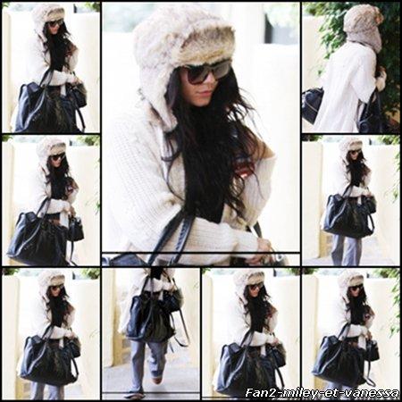 Vanessa a été vue ce 6 janvier 2011, dans l'après-midi, se rendant à un rendez-vous d'affaires à Studio City.
