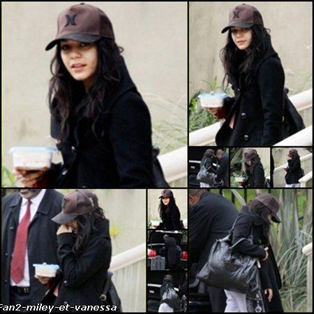 Le travail reprend pour Vanessa qui a été vue ce samedi 8 janvier 2011, sortant de sa maison à Studio City avant de se rendre à l'aéroport de LAX pour prendre un vol vers la Caroline du Nord. C'est là qu'aura lieu la deuxième partie du tournage de son prochain film « Journey 2 : The Mysterious Island » , prévu pour fin 2011.