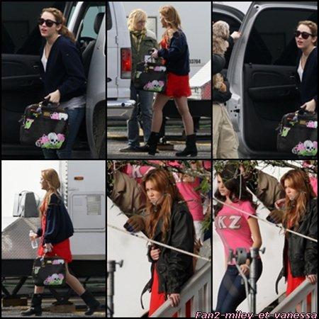 Voici de nouvelles photos du tournage du film So Undercover. Datant du mardi 11 janvier 2011.