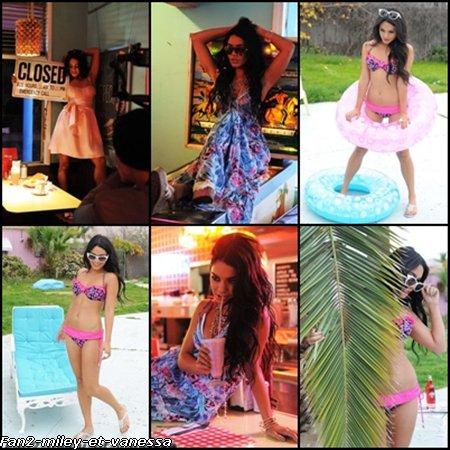 Après avoir été l'égérie de la marque Ecko Red pendant plusieurs années, Vanessa continue dans sa lancée en devant l'égérie 2011 de la célèbre marque américaine Candie's. Elle succède à des icônes telles que Britney Spears, Fergie, Hayden Panettiere ou encore Ashlee Simpson. La belle a récemment fait un photoshoot promotionnel pour la marque.