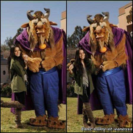 Vanessa s'est rendue ce dimanche 13 février 2011 à Disneyworld, en Floride.