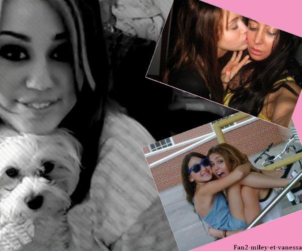 Voici 3 photos personnelles de Miley Cyrus.