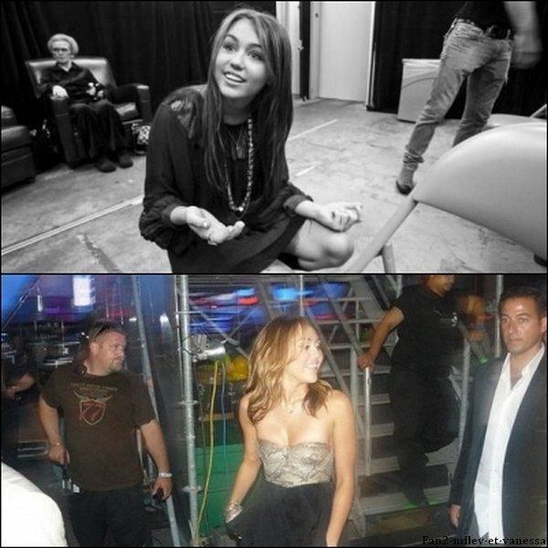 Voici des photos personnelles de Miley Cyrus.
