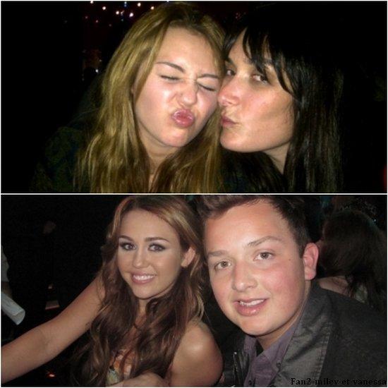 Voici 2 nouvelles photos perso de Miley.