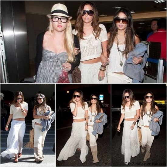 Ce mardi 3 mai 2011, Vanessa et Ashley Tisdale ont été vues arrivant à l'aéroport LAX à Los Angeles. Top ou Flop leurs tenues ?
