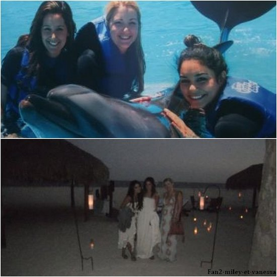 Voici des photos personnelles de Vanessa pendant ses vacances à Mexico. (Désolée pour la mauvaise qualité de certaines photos).