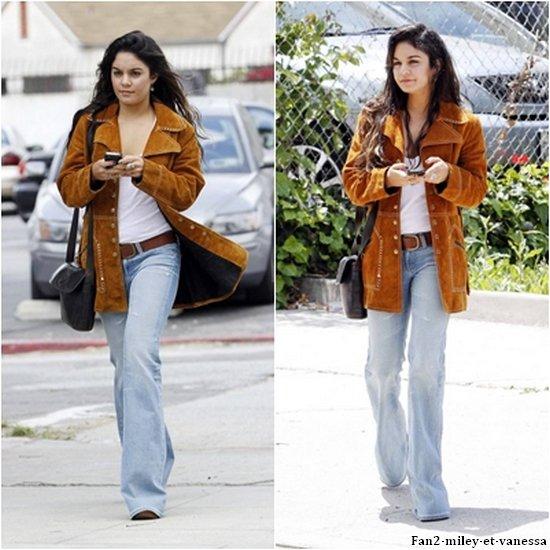 Vanessa s'est rendue dans un studio à Los Angeles ce lundi 9 mai 2011. TOP ou FLOP sa tenue ?