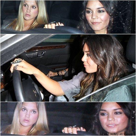 Vanessa s'est rendue dans une boîte de nuit à Los Angeles ce mardi 10 mai 2011.