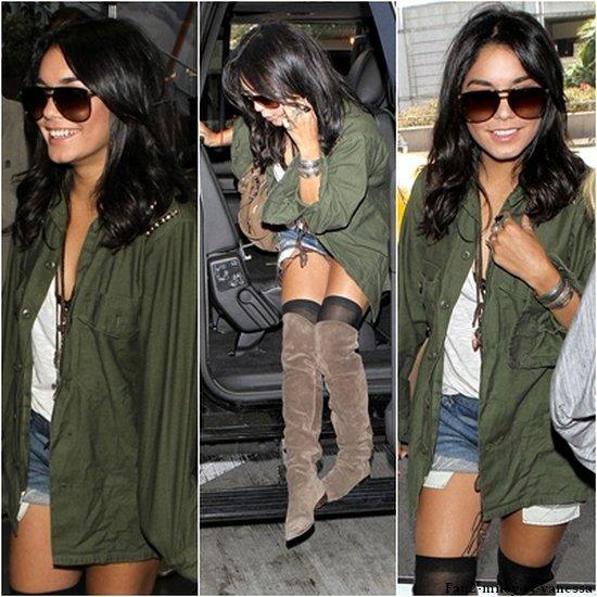 Ce jeudi 12 mai 2011, Vanessa était à l'aéroport L.A.X pour se rendre en France, à Cannes. La miss à prit le temps de signer quelques autographes. TOP ou FLOP sa tenue ?