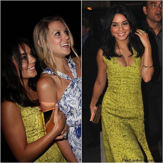 Plus tard dans la journée, Vanessa est arrivée à Cannes. Elle a été à la soirée Calvin Klein. Elle s'est ensuite rendue à la soirée F*ck me I'm Famous, organisée par David et Cathy Guetta. Top ou FLOP sa tenue ?