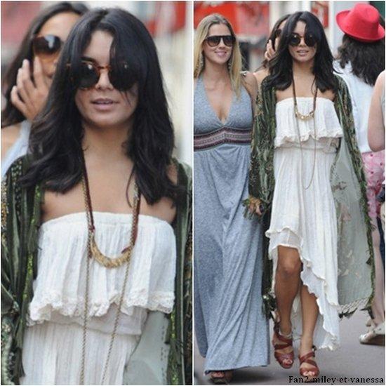A peine arrivée dans le sud de la France afin d'assister au 64e Festival de Cannes, ce jeudi 12 mai 2011, Vanessa a été vue se rendant à une soirée. TOP ou FLOP sa tenue ?