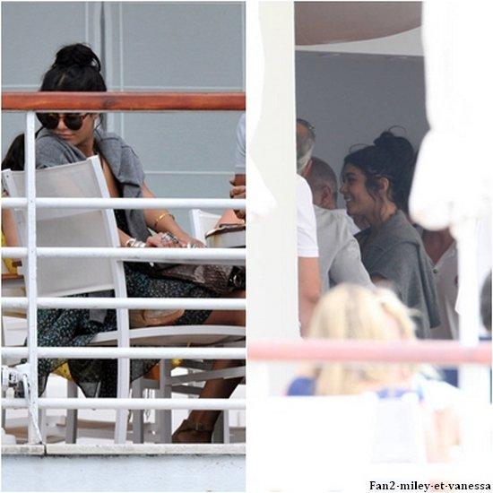 Samedi 14 mai 2011, Vanessa à été vue déjeunant au restaurant Eden Roc à leur hôtel à Cannes.