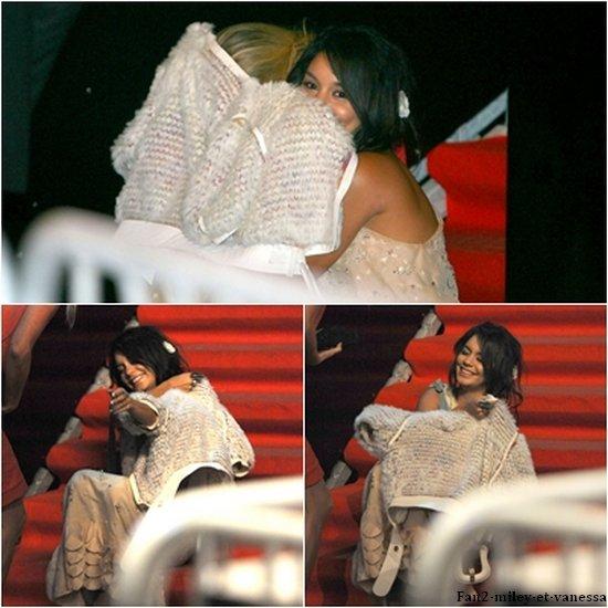 Puis enfin, Vanessa à été vue quittant le VIP Room.