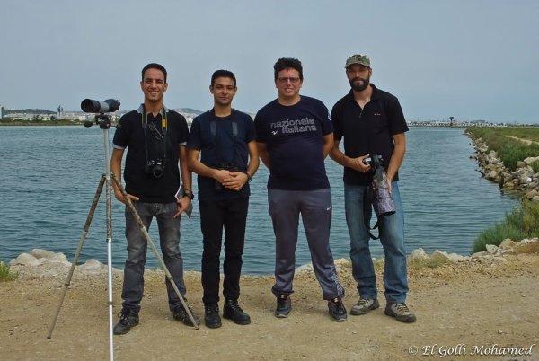 sortie observation au lac sud tunis