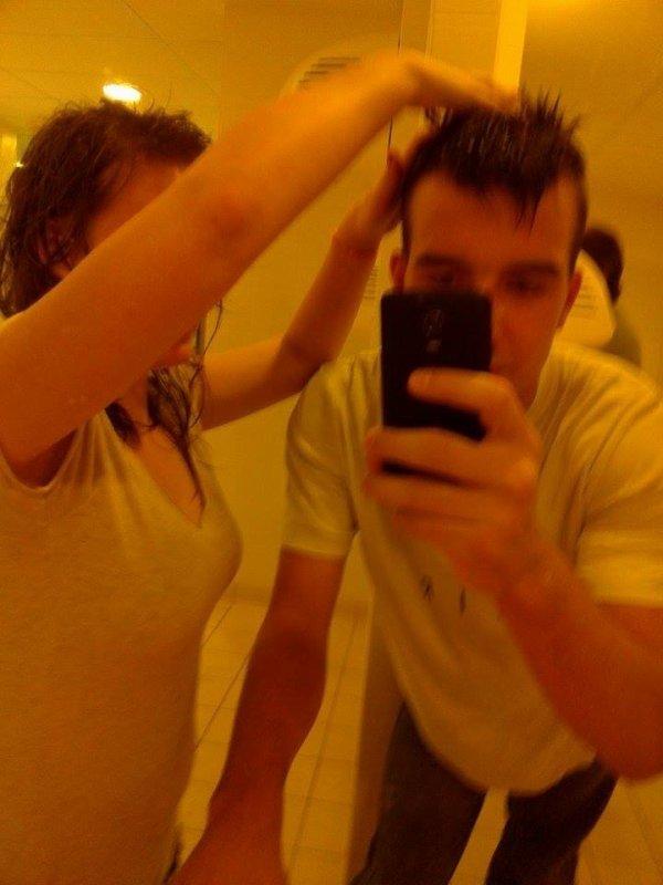 Moi qui coiff mon chéri