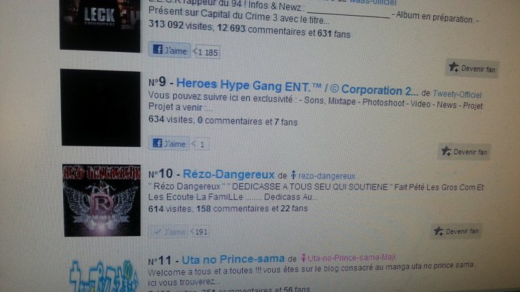 """Top 100 des indépendant  """" Rézo Dangereux """""""