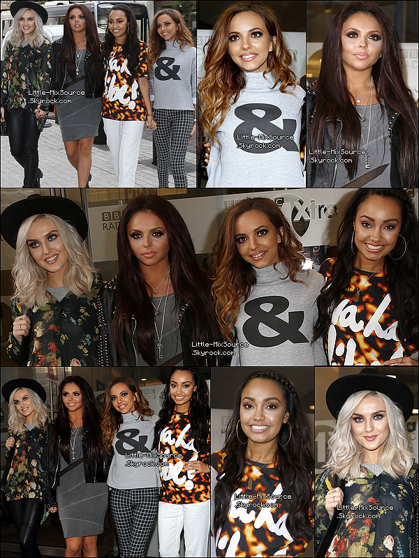 "06.11.13 Les Little Mix devant les studios de "" Celeb Juice "" à Londres."