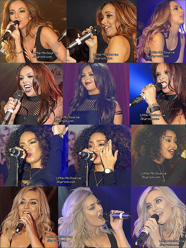 09.11.13 Les Little Mix ont chantées au G-A-Y Club.