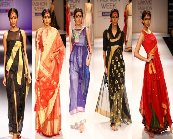 Indian & western mixed looks dominate Lakme Fashion Week