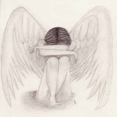 Dessin Ange Triste ange triste - chiraze w dessin