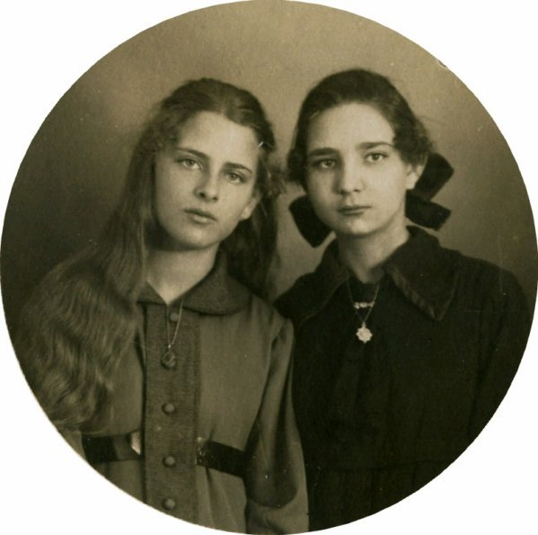 Ma grand-mère était très belle aussi