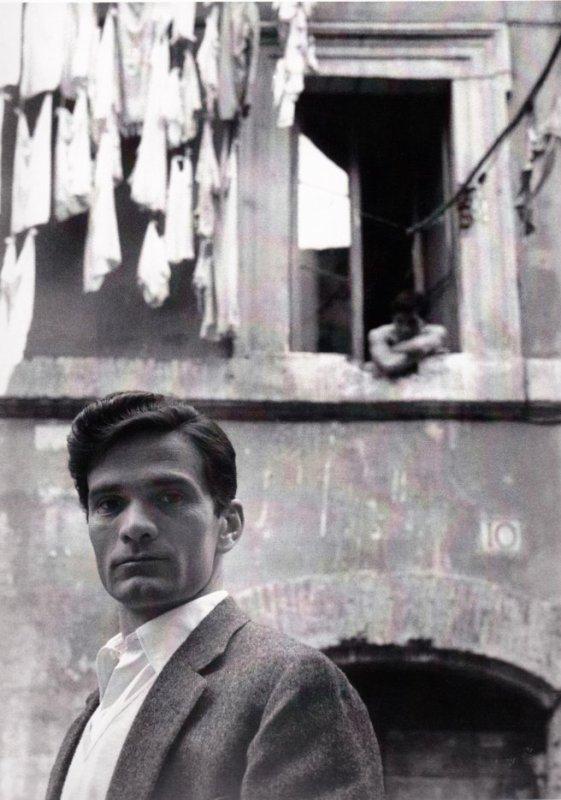 Pasolini, Rome, 1953