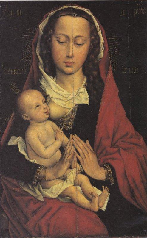 J'aime Marie par Van der Weyden