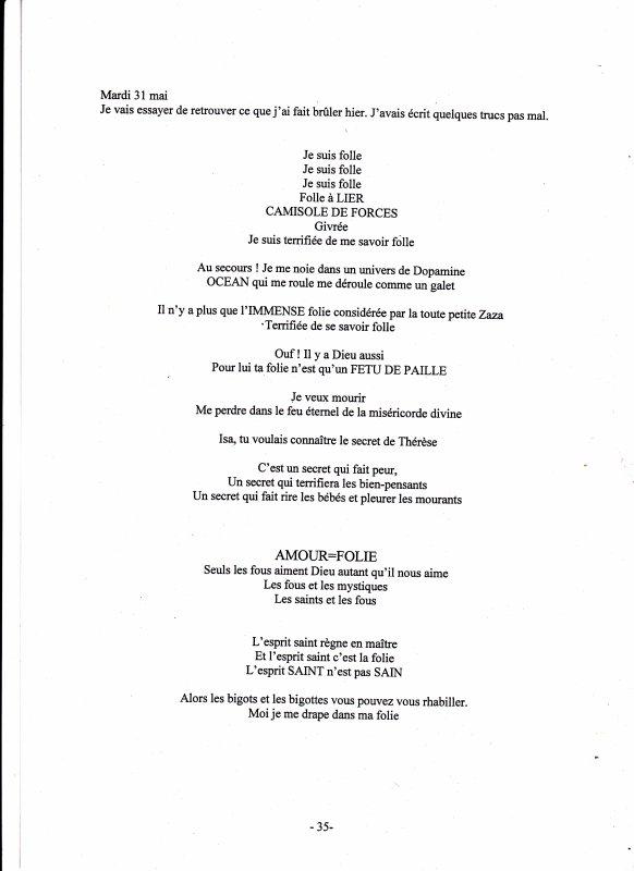 30 mai 1994 : Deuxième accès maniaque