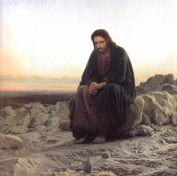 Le Christ dans le désert