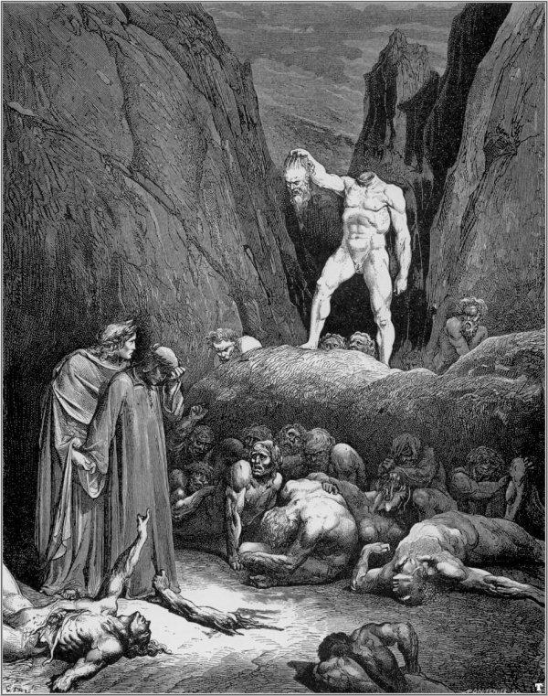 L'enfer par Doré