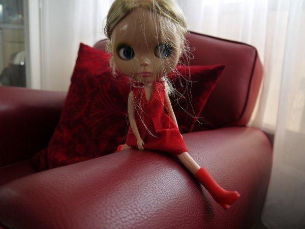 Avec les poupées Blythe on accède au beau