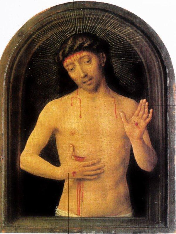 Un Christ improbable et mélancolique, entre la vie et la mort