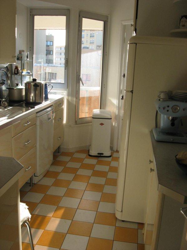 Avril 2003 : les clés de notre nouvel appartement