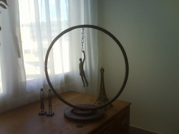 Sculpture achetée en up dans ma maison.