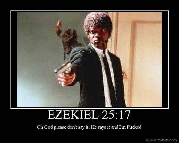 Ezechiel 25 : 17