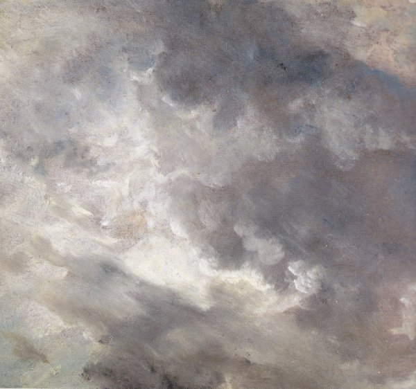 Je regarde les nuages