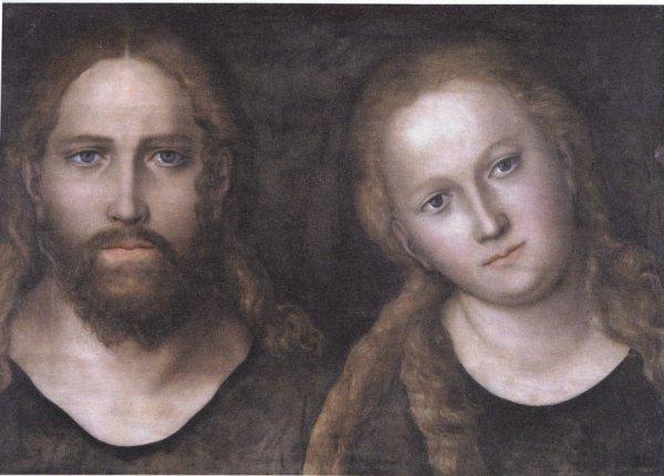 Jésus et Marie adultes