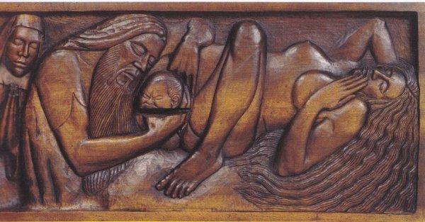 Un Nabi fasciné par la naissance, la mort, ses filles, la vague